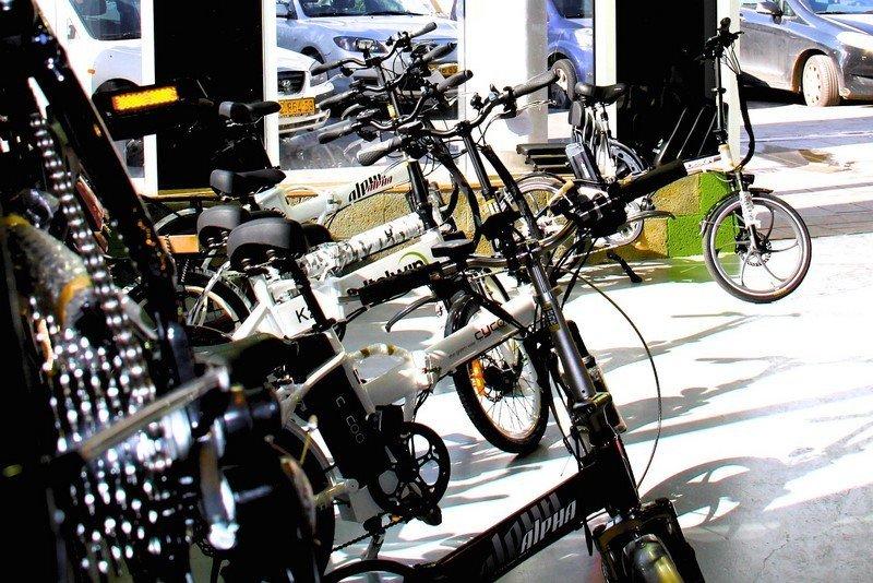 חנות אופניים בירושלים